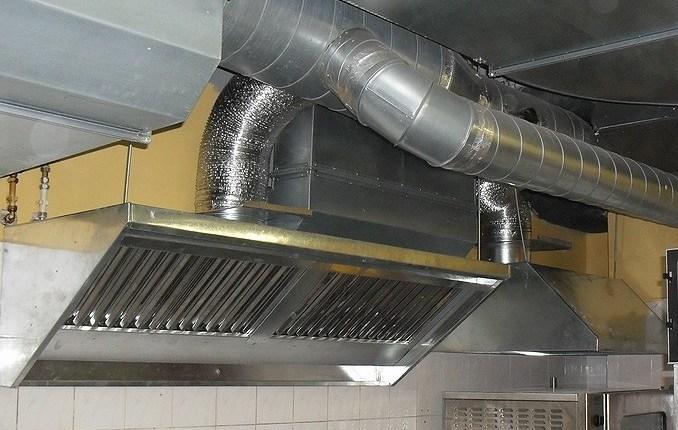 Вытяжная вентиляция с кухни