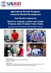 Livestock Market Development