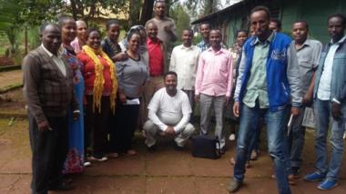 Nedjo ATVET Gender Cascading participants