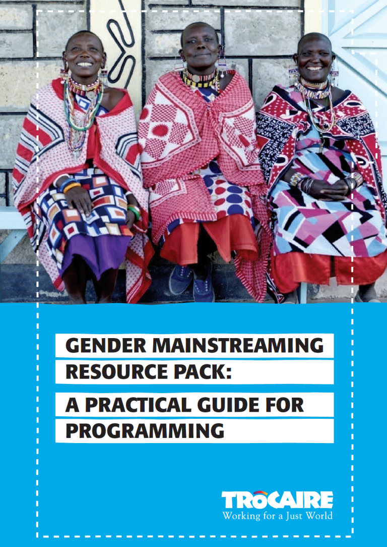 Gender Mainstreaming Resource PACK - A Practical Guide for Programming