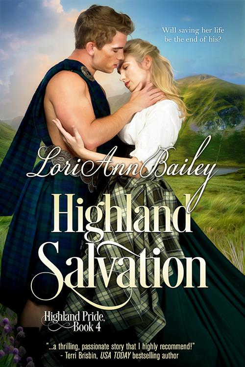 Blog Tour and Giveaway: Highland Salvation by Lori Ann Bailey