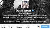 Adam Serwe Twitter Bio