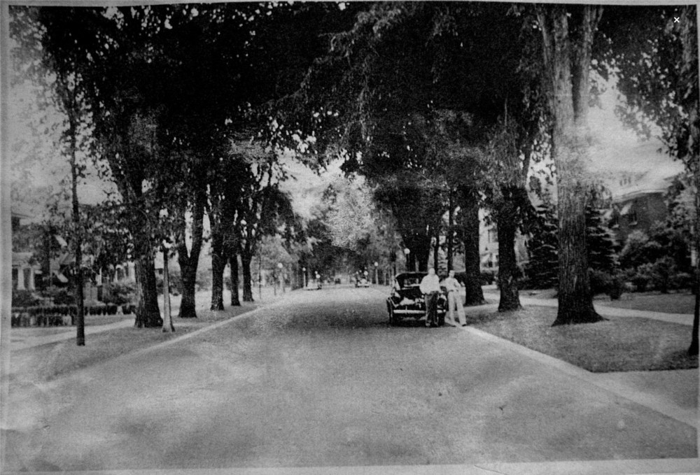 Clemow Avenue in late 1940s (2/2)