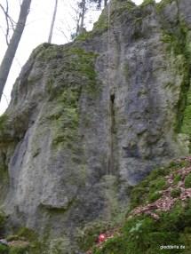 Der Streitberger Weg (5-) und rechts daneben der Nürnberger Weg (7)