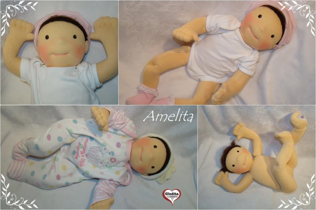 50 cm - babywearind demo doll