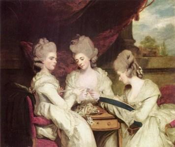 Sir_Joshua_Reynolds_A Waldegrave nővérek, 1770-80