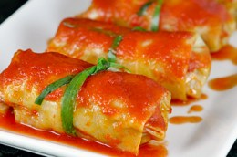 Cooked Stuffed Cabbage