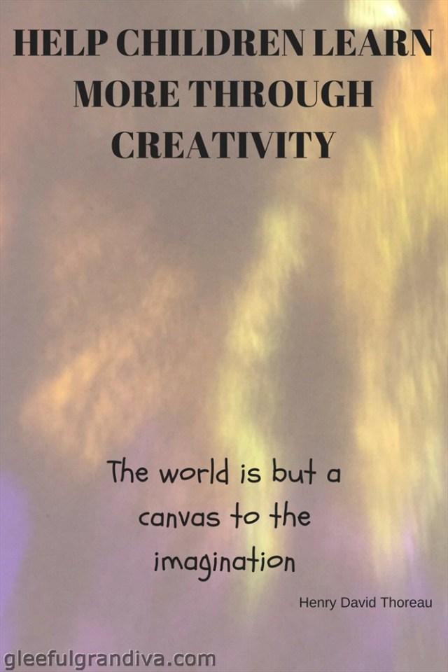 children learn more through creativity picture