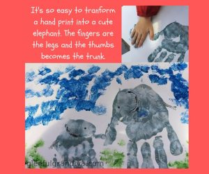 elephant crafts picture