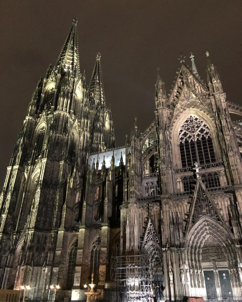 The Dom by night