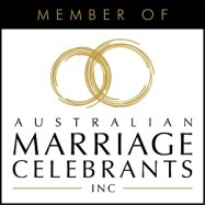 Very Good Brisbane Celebrant Glenda J Ashleigh is a member of the Australian Marriage Celebrants Inc Association.