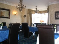 breakfast room at the B&B