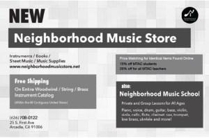 Neighborhood Music Store