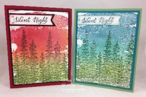 Tuesday's Tips & Techniques - Sparkled Spritzed Watercolor Background