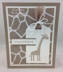 Stampin' Up! Zoo Babies