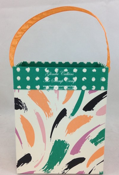 Mini Treat:Gift Bag Front
