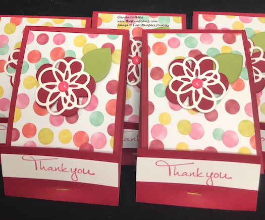 Spring Filled Prints, Blooming Details Die, glendasblog, Fun Stampers Journey