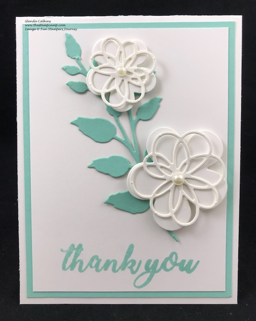 Blooming Details Die, Fun Stampers Journey, thestampcamp