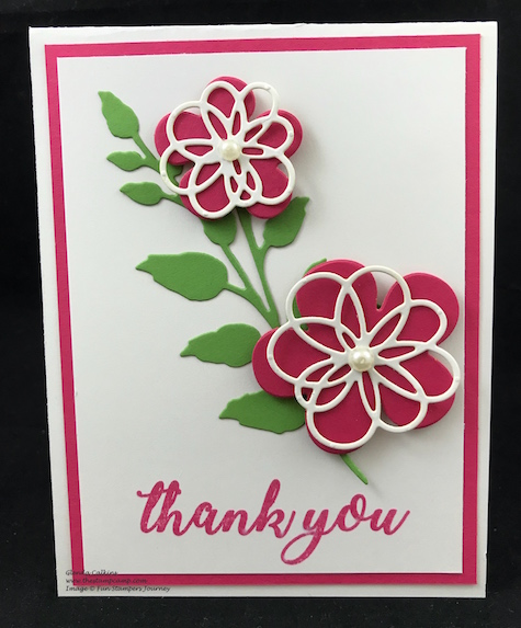 Blooming Details Die, Fun Stampers Journey, glendasblog, thestampcamp