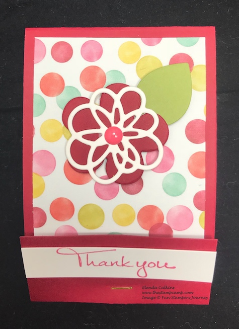 Spring Filled Prints, Blooming Details Dies, Fun Stampers Journey, glendasblog