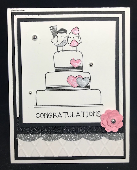 Wedding Bliss, Fun Stampers Journey, glendasblog, thestampcamp