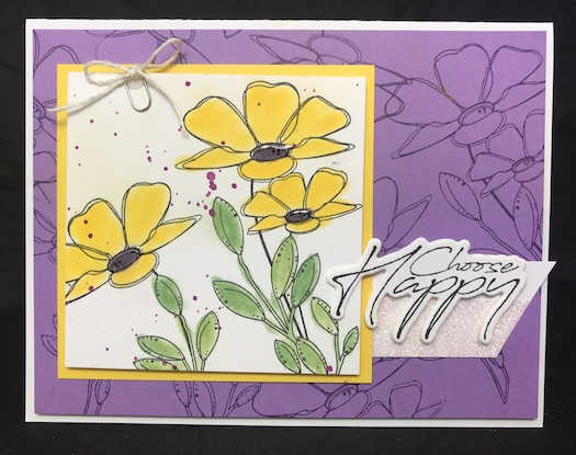 Spread Happiness, Fun Stampers Journey, glendasblog