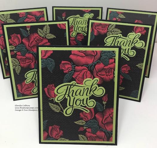 Mystic Romance Prints, Fun Stampers Journey, glendasblog, Everyday Script Bundle