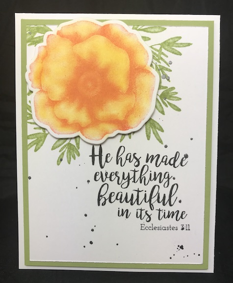 Spring Botanicals, Fun Stampers Journey, glendasblog, Hope Anchors
