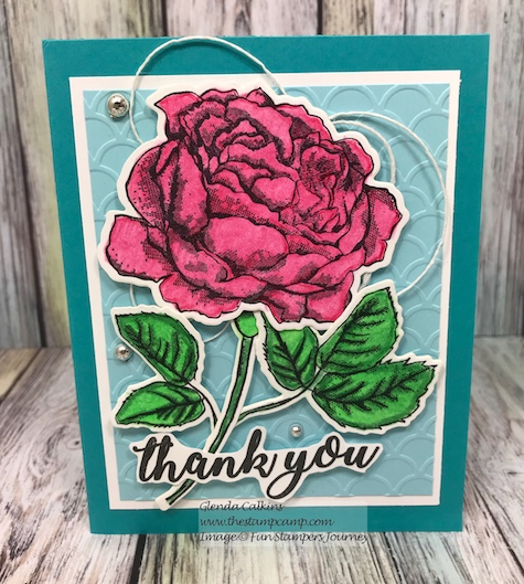 Dear Rose, Fun Stampers Journey, glendasblog, thestampcamp