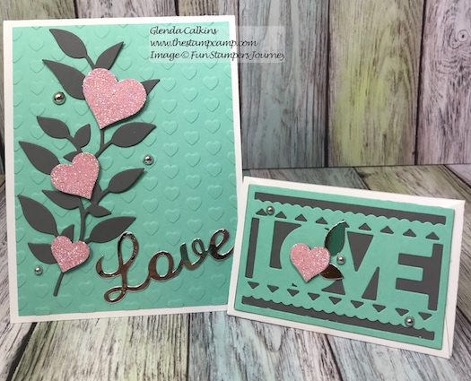 Summer Branch, I Heart, Fun Stampers Journey, thestampcamp
