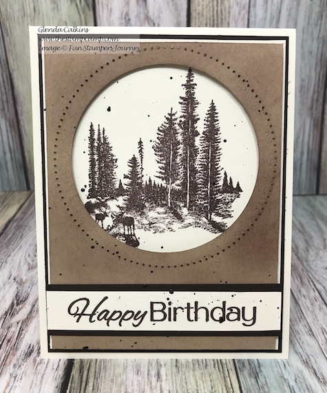 Stay Wild, Cake Time, Fun Stampers Journey, glendasblog, thestampcamp