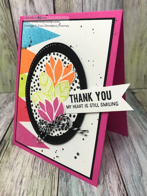Color Me Happy, Bloom Box, Fun Stampers Journey, glendasblog