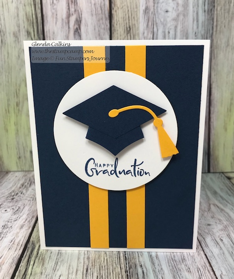 Graduation, Fun Stampers Journey, glendasblog, thestampcamp
