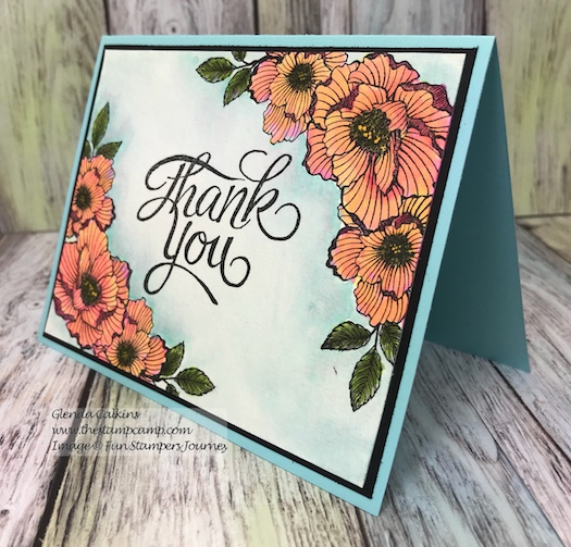 Thank you, Fun Stampers Journey, glendasblog, thestampcamp