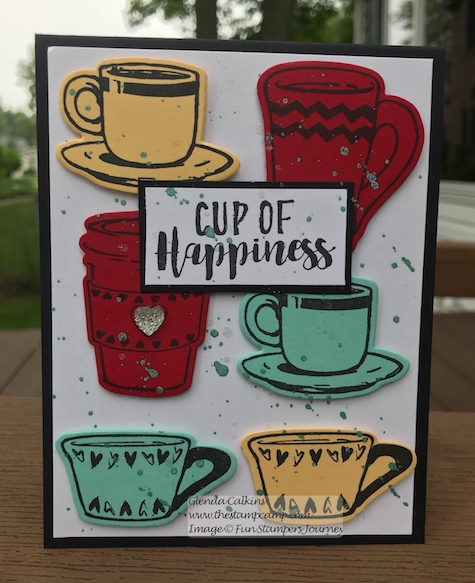 Coffee Helps Bundle, Fun Stampers Journey, glendasblog, the stamp camp