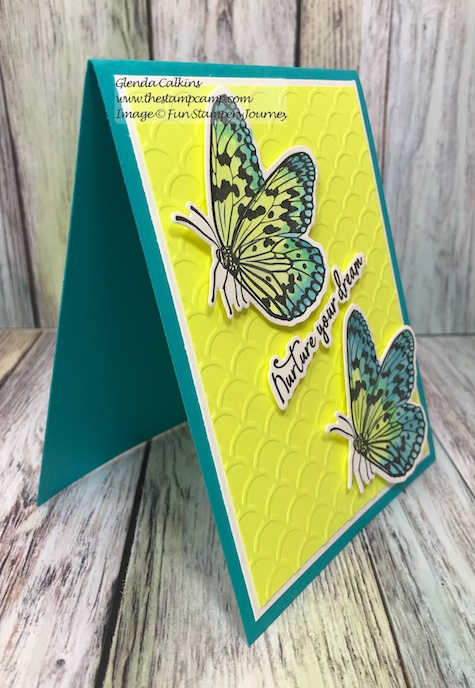 Small Things Bundle, glendasblog, the stamp camp, Fun Stampers Journey