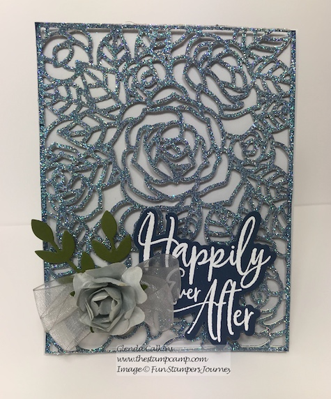 Rose Garden, Fun Stampers Journey, glendasblog, the stamp camp