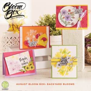 FSJ Backyard Blooms August Bloom Box!