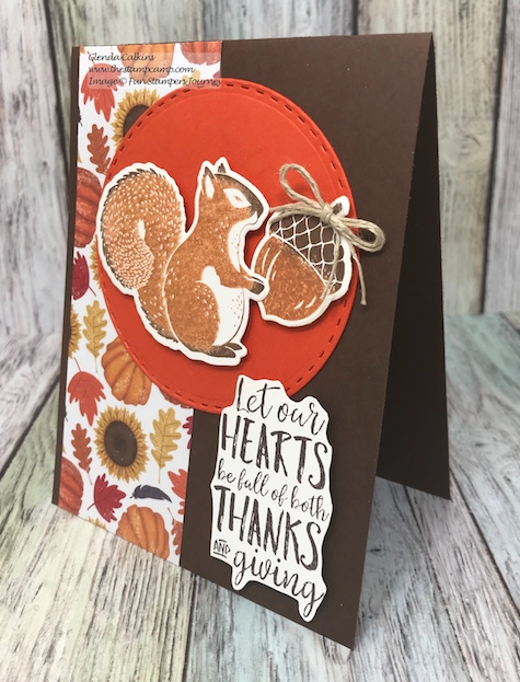 Thankful Friends, Fun Stampers Journey, glendasblog, the stamp camp