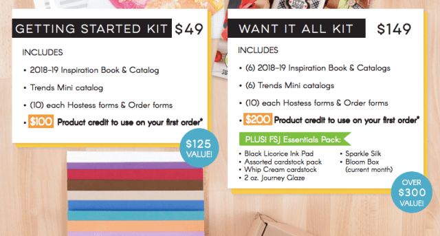 Starter Kit, Fun Stampers Journey, glendasblog, the stamp camp