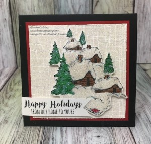 Fun Stampers Journey Stay Cozy Winter Scene