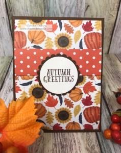Fall-o-ween Prints, FSJ, Fun Stampers Journey, glendasblog, the stamp camp