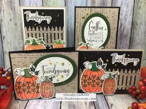Martha's Pumpkins Featured Stamp Set for October