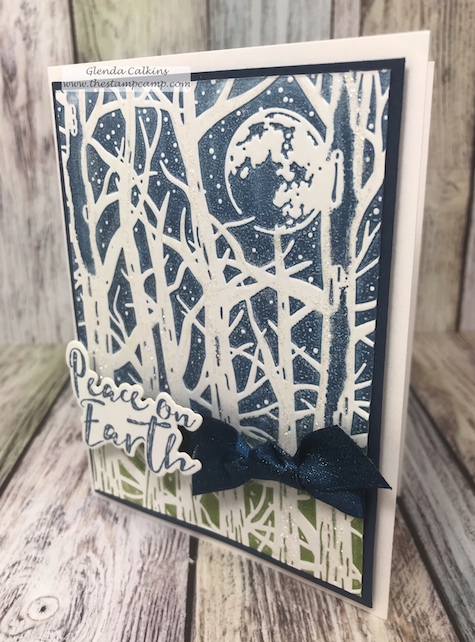 Spooky Moon, FSJ, It's Cold Outside, Fun Stampers Journey, glendasblog, the stamp camp