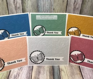 Good Life Color Collection, FSJ, The Stamp Camp, Small Things Bundle, Butterflies, #Embossing