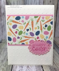 Through the Years printed papers has a print for every month of the year for your cards, scrapbook pages or 3D projects from Fun Stampers Journey. Pair it with the Annual Celebrations stamp set and you can create quick and easy cards for every month of the year. details: www.thestampcamp.com #easter #fsj #thestampcamp #handmadecards #crafts