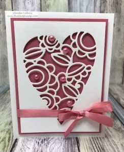 The Decorative Hearts dies from Fun Stampers Journey are perfect for a multitude of occasions. You can use them for weddings, anniversary's, Birhtday's, Valentine's Day you choose. #hearts #fsj #dies, #thestampcamp