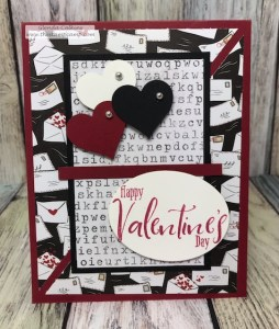 The Follow Your Heart Prints pack has some great prints for your Valentine cards and projects. This 6 x 6 pack of printed papers is from Fun Stampers Journey. #fsj #thestampcamp #paper #valentine
