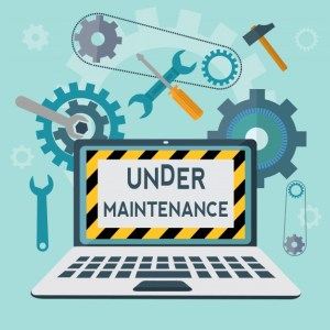 Blog Maintenance Happening!