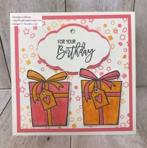 Birthday Cheer Gift Card Holder